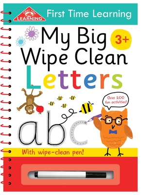 My Big Wipe Clean Letters: Wipe-Clean Workbook (First Time Learning) Cover Image
