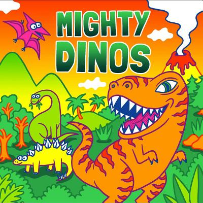 Mighty Dinos (Fluorescent Pop!) Cover Image