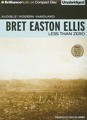 Less Than Zero Cover