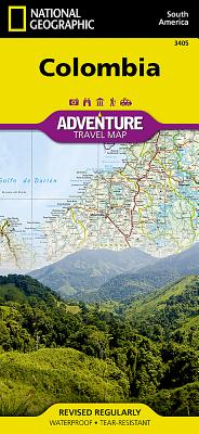 Colombia Adventure Travel Map (National Geographic Adventure Travel Maps #3405) Cover Image