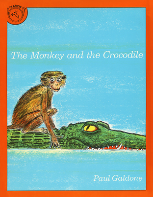 The Monkey and the Crocodile Cover