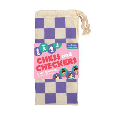 Enchanting Princess Chess & Checkers Cover Image