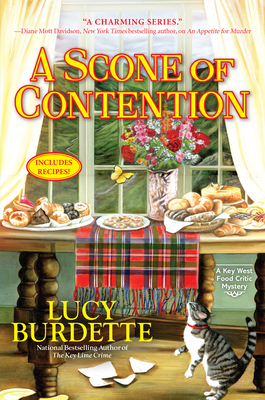 A Scone of Contention: A Key West Food Critic Mystery Cover Image