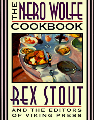 The Nero Wolfe Cookbook Cover