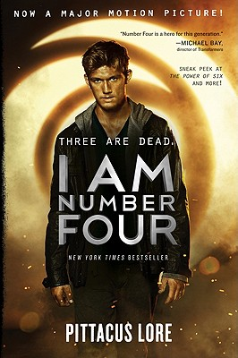 I Am Number Four Cover