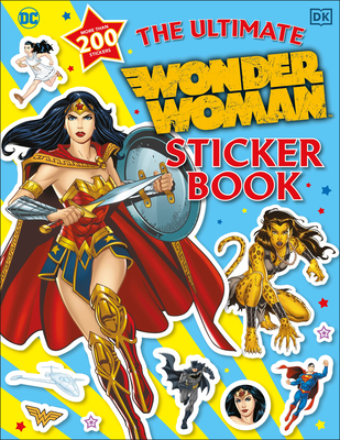 The Ultimate Wonder Woman Sticker Book Cover Image