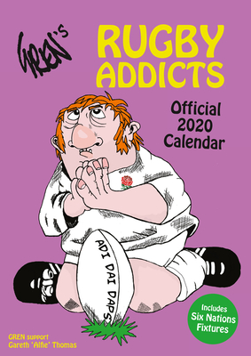The Official Rugby Addicts (Gren's) Calendar 2022 Cover Image