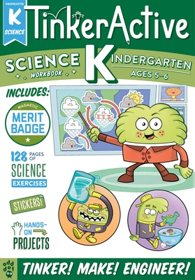 TinkerActive Workbooks: Kindergarten Science Cover Image