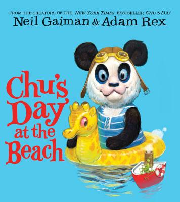 Chu's Day at the Beach Board Book Cover Image