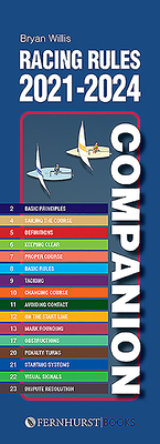 Racing Rules Companion 2021-2024 (Practical Companions #13) Cover Image
