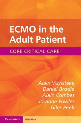 ECMO in the Adult Patient (Core Critical Care) Cover Image