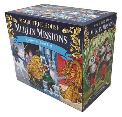 Cover for Magic Tree House Merlin Missions Books 1-25 Boxed Set (Magic Tree House (R) Merlin Mission)