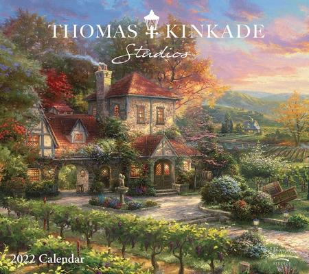 Thomas Kinkade Studios 2022 Deluxe Wall Calendar Cover Image