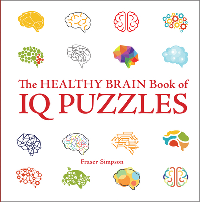 Cover for Healthy Brain Book of IQ Puzzles