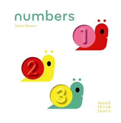 TouchThinkLearn: Numbers: (Board Books for Baby Learners, Touch Feel Books for Children) Cover Image