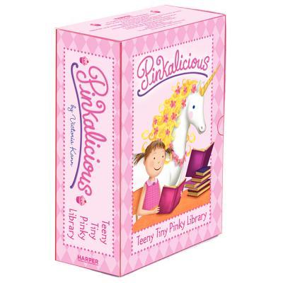 Pinkalicious: Teeny Tiny Pinky Library: 4 Mini Books Cover Image