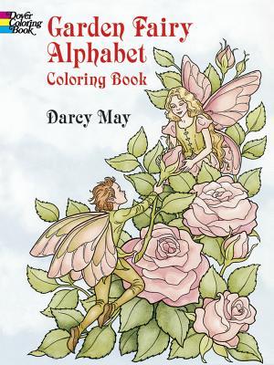 Garden Fairy Alphabet Coloring Book (Dover Coloring Books) Cover Image
