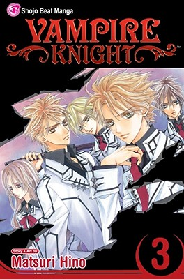 Vampire Knight, Volume 3 Cover