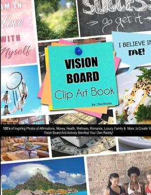 Vision Board Clip Art Book Cover Image