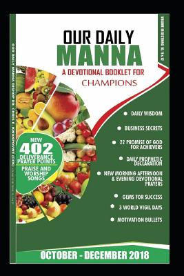 Our Daily Manna October - December 2018: A Devotional Booklet for Champions in Colour Cover Image