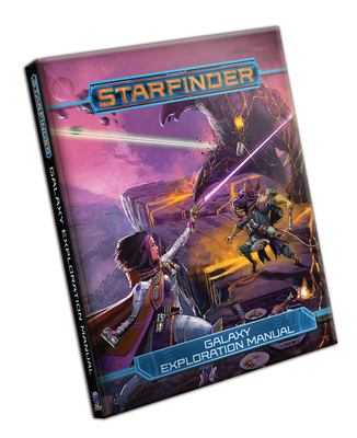Starfinder Rpg: Galaxy Exploration Manual Cover Image