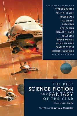 The Best Science Fiction and Fantasy of the Year Volume 2 Cover Image