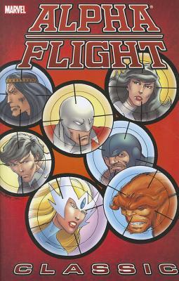 Alpha Flight Classic, Volume 2 Cover