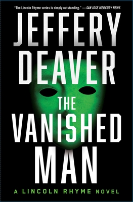 The Vanished Man: A Lincoln Rhyme Novel Cover Image