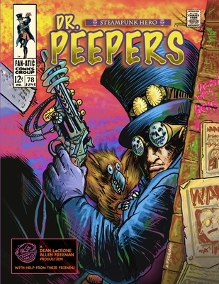Dr. Peepers Steampunk Hero Cover Image