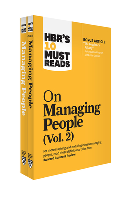 Hbr's 10 Must Reads on Managing People 2-Volume Collection Cover Image