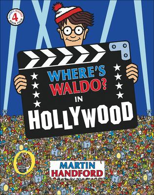 Where's Waldo? in Hollywood (Where's Waldo? (Pb) #4) Cover Image
