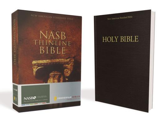 NASB Thinline Bible (NASB Thinline S) Cover Image