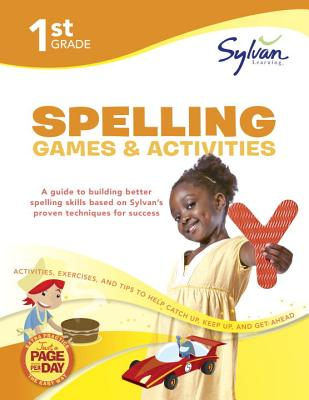 1st Grade Spelling Games & Activities Cover Image