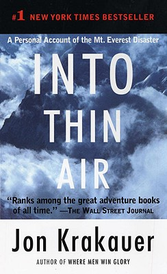 Into Thin Air: A Personal Account of the Mt. Everest Disaster Cover Image