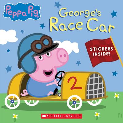 George's Race Car (Peppa Pig) (Media tie-in) Cover Image