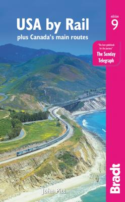 USA by Rail: Plus Canada's Main Routes Cover Image