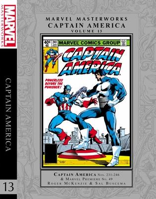 Marvel Masterworks: Captain America Vol. 13 cover