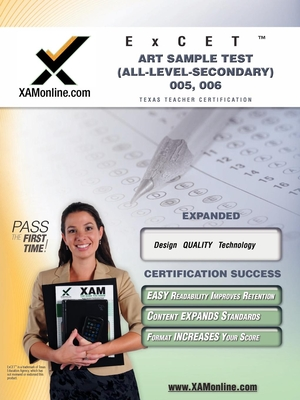 TExES ExCET Art Sample Test (All-Level-Secondary) 005, 006 Cover