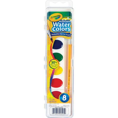 Washable Watercolor Paint, 8 a Cover Image