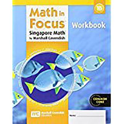 Student Workbook, Book B Grade 1 (Math in Focus: Singapore Math) Cover Image