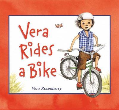 Vera Rides a Bike Cover