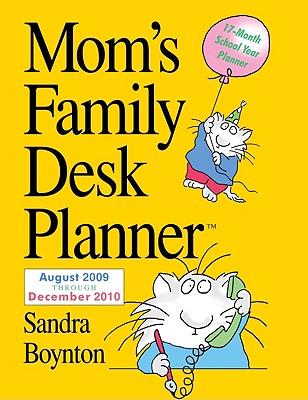 Cover for Mom's Family Desk Planner