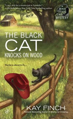 The Black Cat Knocks on Wood (A Bad Luck Cat Mystery #2) Cover Image