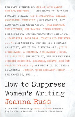 How to Suppress Women's Writing Cover Image