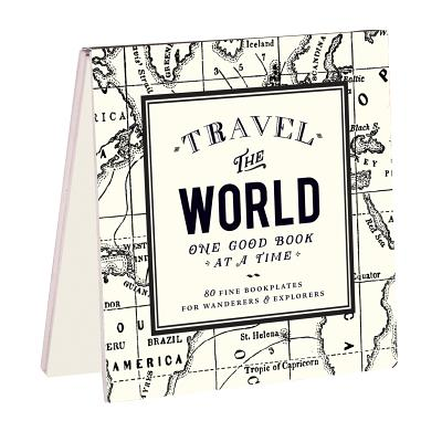 Alice Scott Vintage Prints Travel the World Bookplates Cover Image
