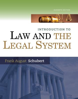 Introduction to Law and the Legal System Cover Image