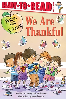 We Are Thankful (Robin Hill School) Cover Image