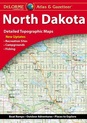 Delorme Atlas & Gazetteer: North Dakota Cover Image