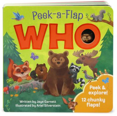 Who (Peek a Flap) Cover Image