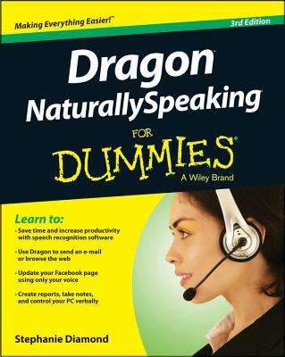 Dragon NaturallySpeaking for Dummies Cover Image